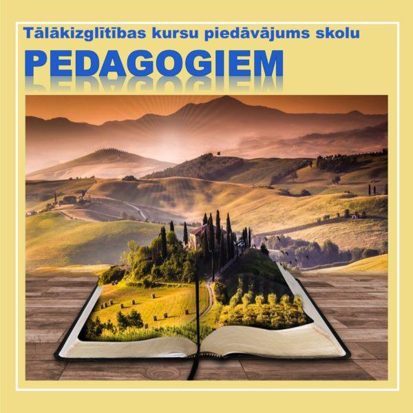 Kursi skolu pedagogiem